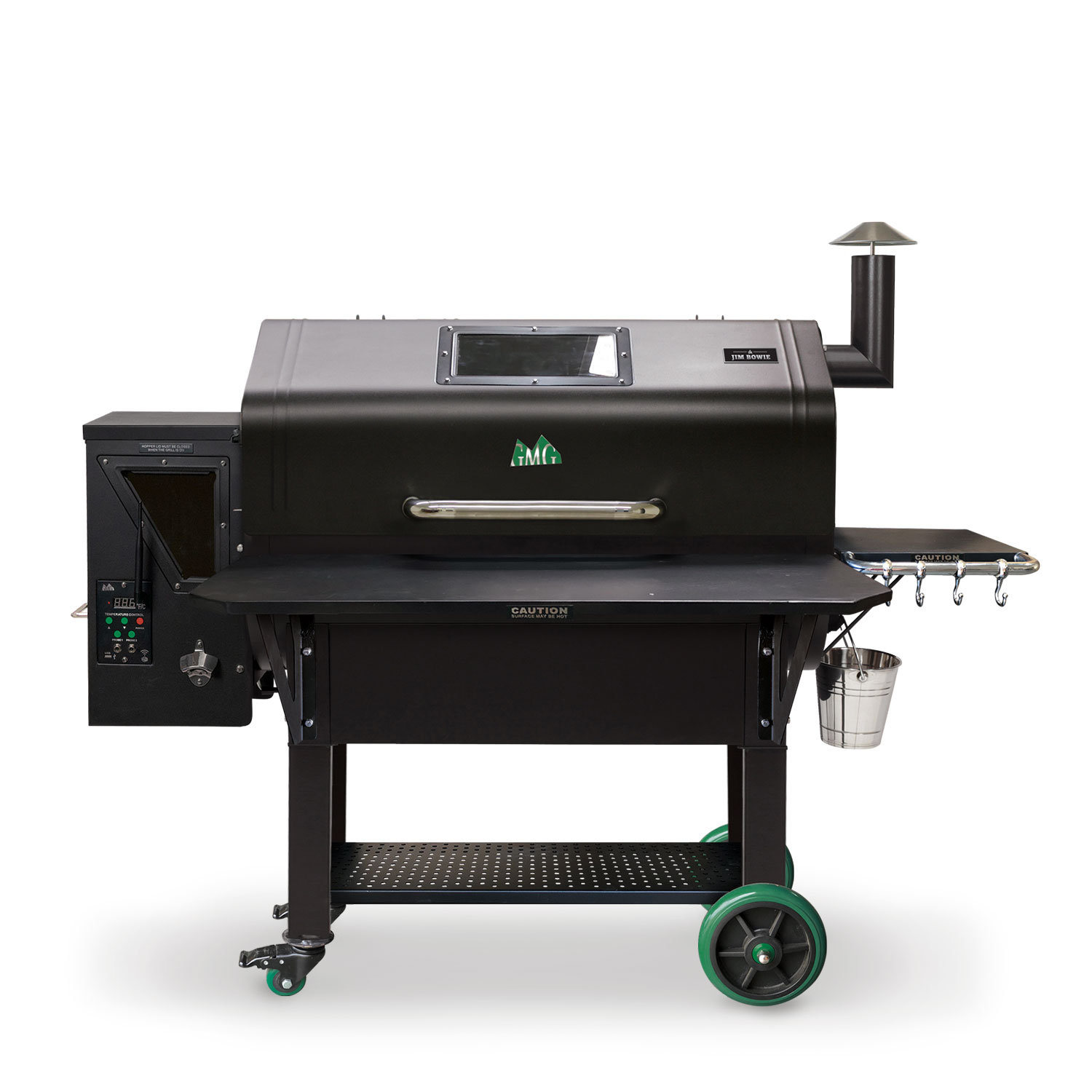 JIM BOWIE GRILL w/WIFI (BLACK)